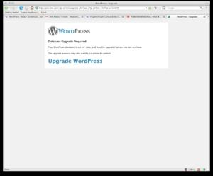 Wordpress 2.5 Upgrade