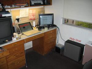 My Desktop Area in the dorm