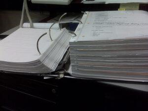 Large Paper Binder
