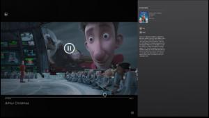 Windows 8 Video Player Overlay